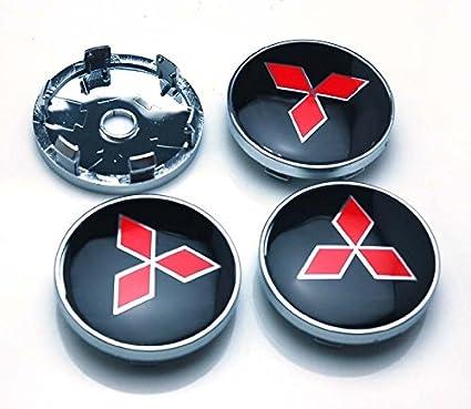 Amazon.com: BENZEE 4pcs W312 60mm Car Emblem Wheel Hub Caps Centre Cover MITSUBISHI LANCER PAJERO OUTLANDER ASX Galant: Automotive