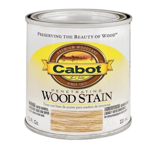 (CabotStain 144-8135 HP 1/2 Pint Red Chestnut Interior Oil Wood)