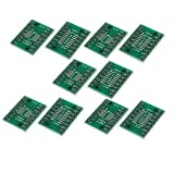 uxcell 10 Pcs SOP16 0.65mm to 1.27mm PCB Adapter Converter Green
