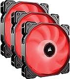 Best Gaming Fans - CORSAIR AF120 LED Low Noise Cooling Fan, Triple Review