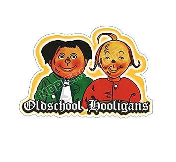 Oldschool Hooligans Aufkleber Sticker Amazonde Auto
