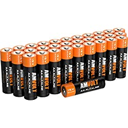 AA Batteries [Ultra Power] Premium LR6 Alkaline Battery 1.5 Volt Non Rechargeable Batteries for Watches Clocks Remotes Games Controllers Toys & Electronic Devices - 2020 Expiry Date (28 Pack)