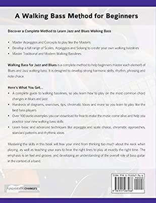 Walking Bass for Jazz and Blues: The Complete Walking Bass Method ...