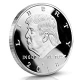 Kizaen Donald Trump Challenge Coin 2018 - Gold Plated in The Commemorative Collectors Edition Series. Stunning Proof Like Coins. A Michael Zweig Designer Coin for Presidential Mint