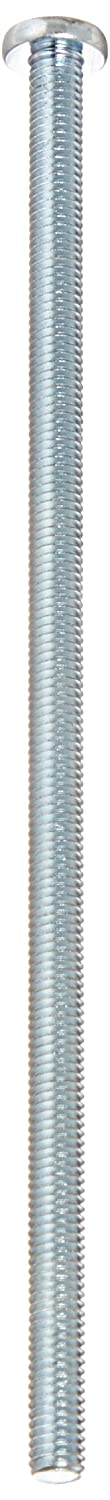 #10-32 Thread Size Fully Threaded Steel Pan Head Machine Screw 5 Length Zinc Plated #2 Phillips Drive Imported Meets ASME B18.6.3 Pack of 10