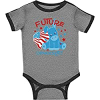 inktastic Donkey Future Democrat Infant Creeper