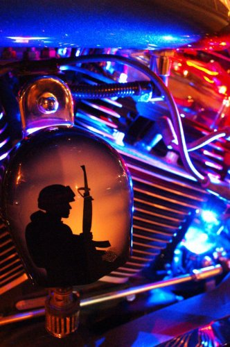 Blue LED Neon Motorcycle Lighting Kit