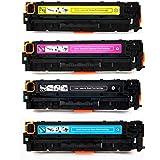 HP Color LJ M551 HP 507A Compatible Toner 4 Color Set, HP LaserJet Enterprise 500 Color M551, HP LaserJet Enterprise 500 Color MFP M575/HP LaserJet Pro 500 Color MFP M570