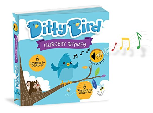OUR BEST INTERACTIVE MUSICAL NURSERY RHYMES BOOK for BABIES. Music Singing Push Button Board Book. Educational Toys for Baby, Toddler, 1 Year Old. Birthday Baby Shower Gift Boy Girl