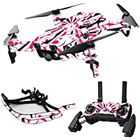 MightySkins Skin for DJI Mavic Air Drone - Pink Trooper Storm | Max Combo Protective, Durable, and Unique Vinyl Decal wrap cover | Easy To Apply, Remove, and Change Styles | Made in the USA