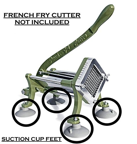 French Fry Cutter Suction Cup Feet by The First Ingredient