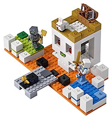 LEGO Minecraft the Skull Arena 21145 Building Kit (198 Piece), Multicolor by LEGO