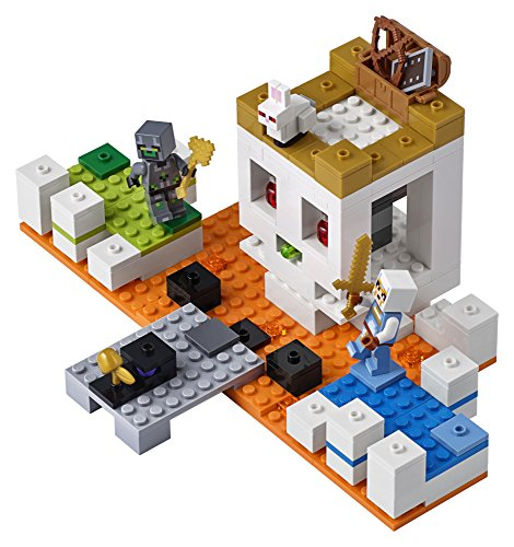518qvp9LPtL - LEGO Minecraft The Skull Arena 21145 Building Kit (198 Piece)