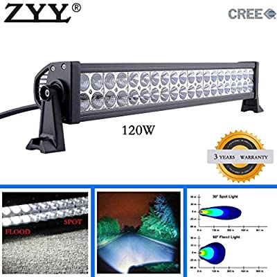 VioGi CREE Led Light Bar Work Lights Flood Spot Combo Beam Waterproof 10v-30v