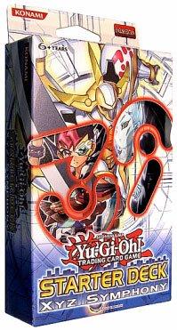 1 X Yu-Gi-Oh Cards Zexal - Starter Deck - XYZ SYMPHONY by Konami