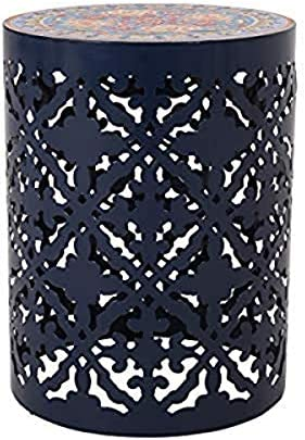 Christopher Knight Home 313061 Laurent Outdoor Lace Cut Side Table