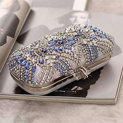 Kanqingqing-Bag Sacs De Soirée Femmes Cristal Maquillage boîte de Rangement Affaires soirée Sac Pochette pour Les Cadeaux d'anniversaire De Mariage