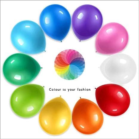 Schimer - Globos Gigantes de un Solo Color, 100 Unidades ...