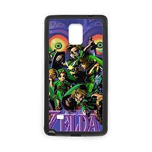 Samsung Galaxy Note 4 Cell Phone Case Black The Legend of Zelda Majora's Mask E5V6AH
