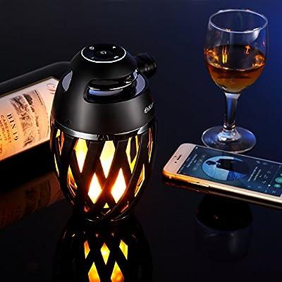 DiKaou wireless speaker table lamp