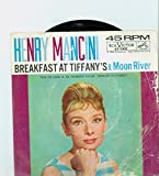 #6: Moon River | Breakfast At Tiffany's - Henry Mancini, His Orchestra And Chorus (RCA Victor Records 1961) Near-Mint (7 out of 10) - Vintage 45 RPM Vinyl Record