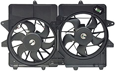 Dual Radiator and Condenser Fan Assembly Spectra CF13005