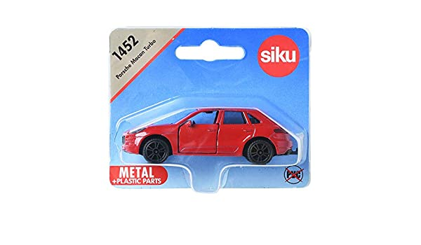 1452 SIKU PORSCHE MACAN TURBO Miniature Diecast Model Toy Scale 1:55 3 years+