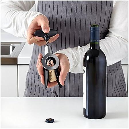 Vardefull Ikea 365+ - Sacacorchos con cuchillo para abrebotellas de vino