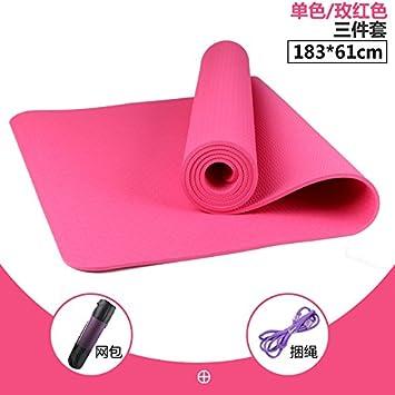 YOOMAT The Two-Color TPE Yoga Mat Starter - Alfombrilla de ...