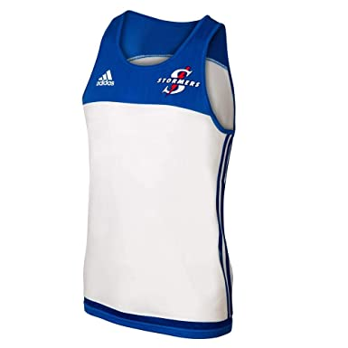 43454d011fb adidas Stormers 2017 Super Rugby Players Training Singlet - White - Size S