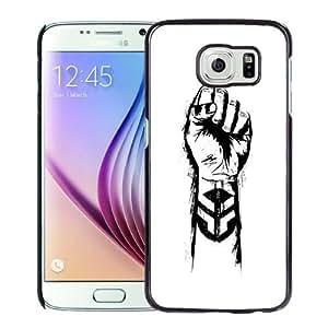NEW Unique Custom Designed Samsung Galaxy S6 Phone Case With Michal Smelko Fist Logo Ride BMX_Black Phone Case