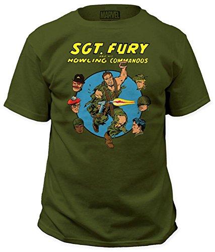 Sgt. Fury - Howling Commandos T-Shirt Size XL