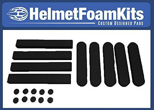 Helmet Replacement Pads Universal Fit Red Cycling Bike Bicycle