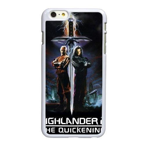 K5R25 Highlander II The Quickening Haute Résolution Affiche Q5M0DJ coque iPhone 6 4.7 pouces Cas de couverture de téléphone portable coque blanche WR9RFD8DC
