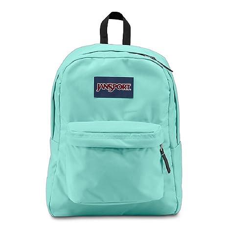 2463adb9001 Image Unavailable. Image not available for. Color: Jansport superbreak  backpack Aqua Dash
