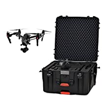 HPRC Wheeled Hard Case for DJI Inspire 2 INS2-4600W-01, Black (INS2-4600W-01)