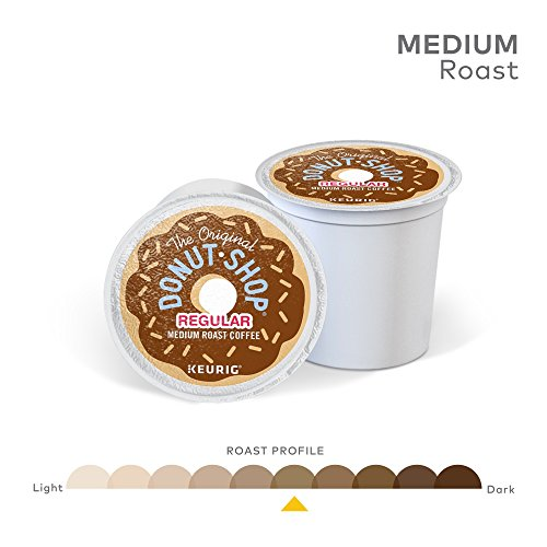 The Original Donut Shop Keurig Single-Serve K-Cup Pods, Regular Medium Roast Coffee, 72 Count by The Original Donut Shop (Image #3)