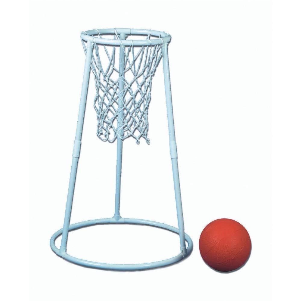 Deluxe Plastic Floor Basketball Set
