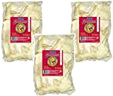 (3 Pack) IMS Trading Natural Rawhide Chips for Dogs, 1-Pound each