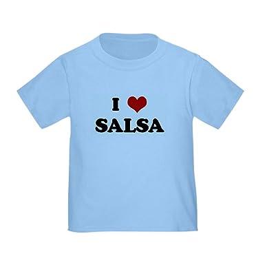 0c26bb2f5 Amazon.com: CafePress I Love Salsa Toddler T-Shirt Toddler Tshirt: Clothing