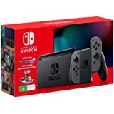 Nintendo Switch Console Grey with Mario Kart 8 Deluxe