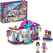 LEGO Friends Heartlake City Play Hair Salon Fun Toy 41391 Building Kit, Featuring LEGO Friends Character Emma,