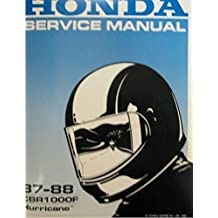 1987 1988 Honda CBR1000F CBR Bike Service Shop Repair Manual NEW FACTORY BOOK