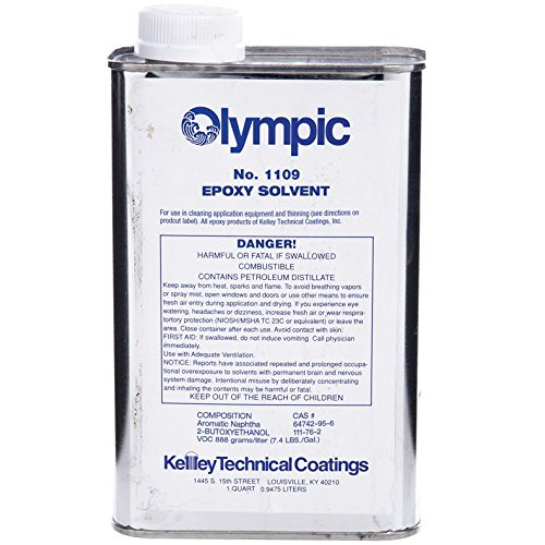 Kelley Technical Olympic Epoxy Paint Thinner - 1 Quart