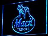 Mack Truck LED Sign Light Blue
