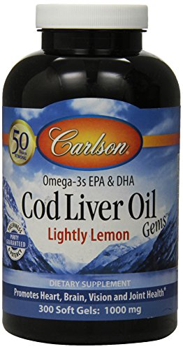 Carlson Lightly Lemon Liver Softgels