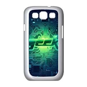 Samsung Galaxy S3 9300 Cell Phone Case White Geek circuit SP4092818