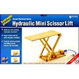 Pathfinders Hydraulic Mini Scissor Lift Wooden Kit (japan import)