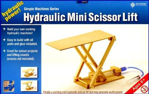 Amazon com: Pathfinders Hydraulic Mini Scissor Lift Wooden Kit: Toys