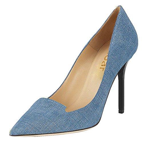 Guoar - Cerrado Mujer Azul - Denim